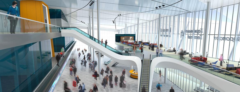 Дизайн интерьера Аэропорта
